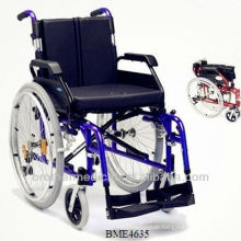 Aluminum wheelchair BME4635 handicap for elderly people